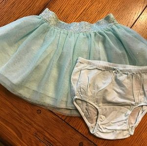 Sparkle toddler skirt